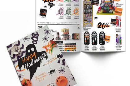 Brochure Promotionnelle Halloween