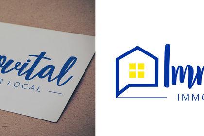 Création du logo Immovital