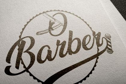 Création de logo pour l'ouverture d'un Barber