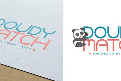 Création du logo DoudyMatch