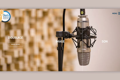 Site internet - agence Sharly Dubbing Production