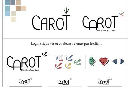 Logo, etiquettes et pictogrammes pour la SAS Carot
