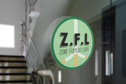 Logo zone fumeur