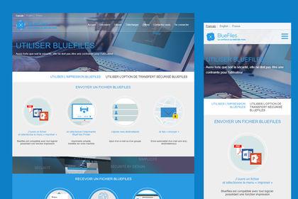UI-UX site vitrine produit