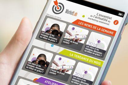 UI-UX application mobile de news