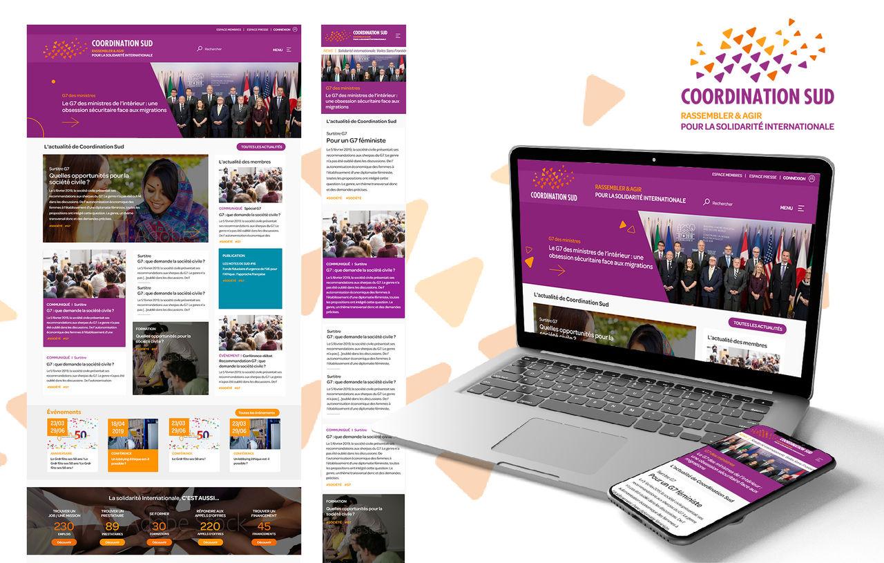 Conception UI-UX d'un site editorial (ONG)