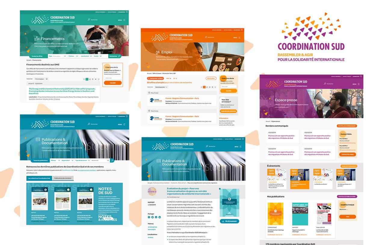 Conception UI-UX d'un site Internet editorial(ONG)