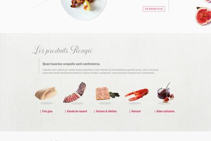 Site internet Rougié