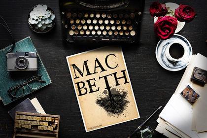 """Couverture de livre """"Mac Beth"""""""