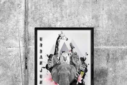 Urban Jungle - affiche