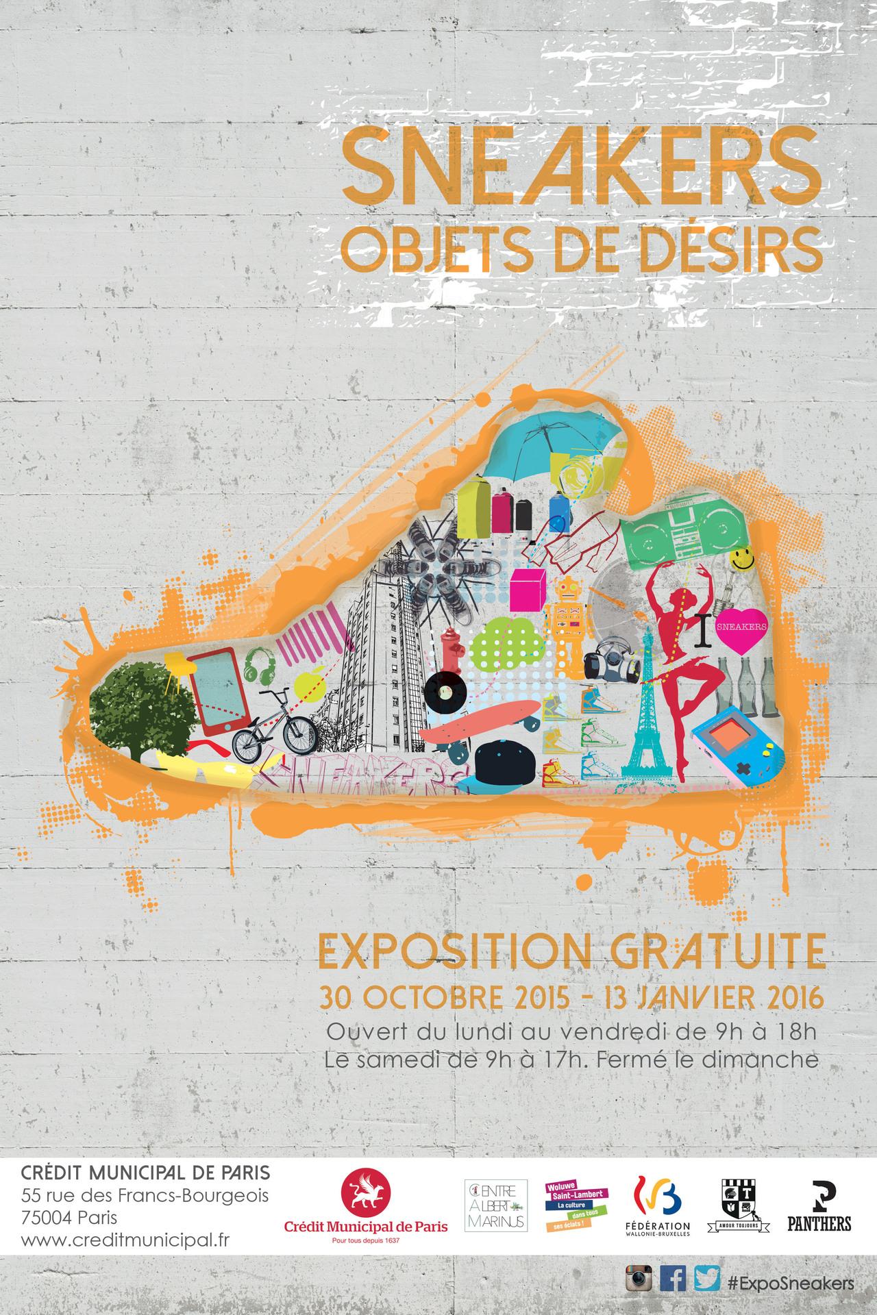 EXPO SNEAKERS OBJETS DE DESIR