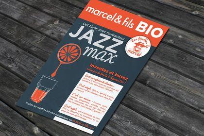 Affiche Marcel & fils (supermarché bio)