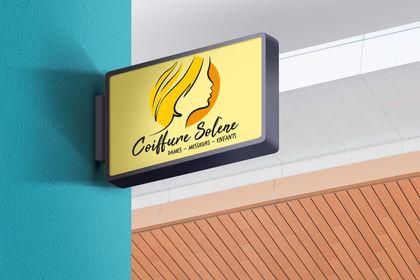 Réalisation Logo Coiffure Solène