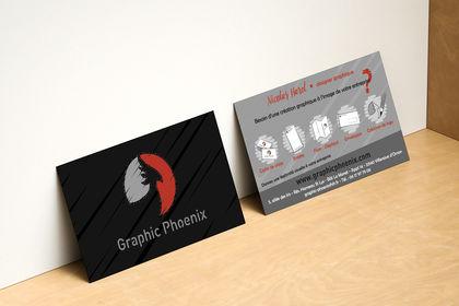 Carte de visite Graphic Phoenix