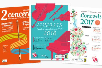 Affiche concerts EVV