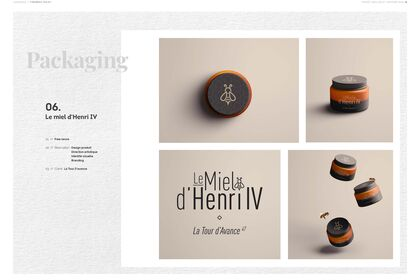 Le Miel d'Henry IV | Packaging