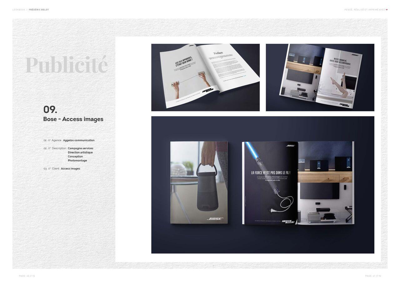 Bose - Access images | Publicité