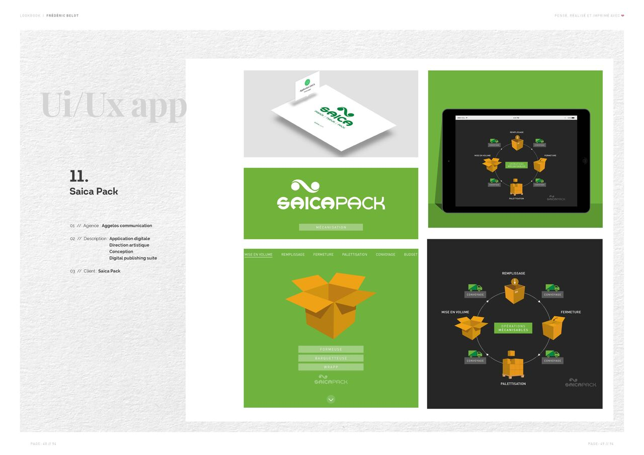 Saica Pack | Advertising | Ux/Ui design