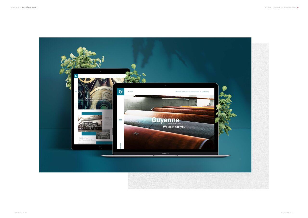 Guyenne papier | Webdesign