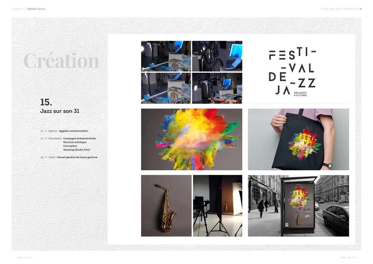 Festival Jazz sur son 31 | Identité visuelle