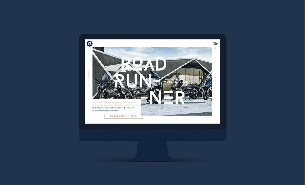 Roadrunner Peugeot   Webdesign responsive