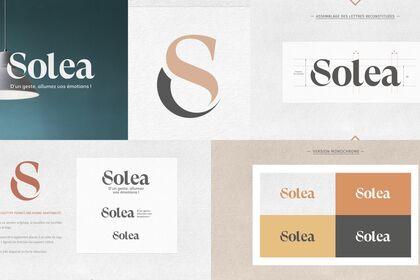 Solea Luminaire | Identité visuelle