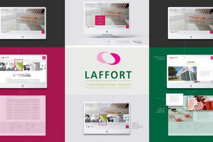 Laffort Œnologie |  Webdesign
