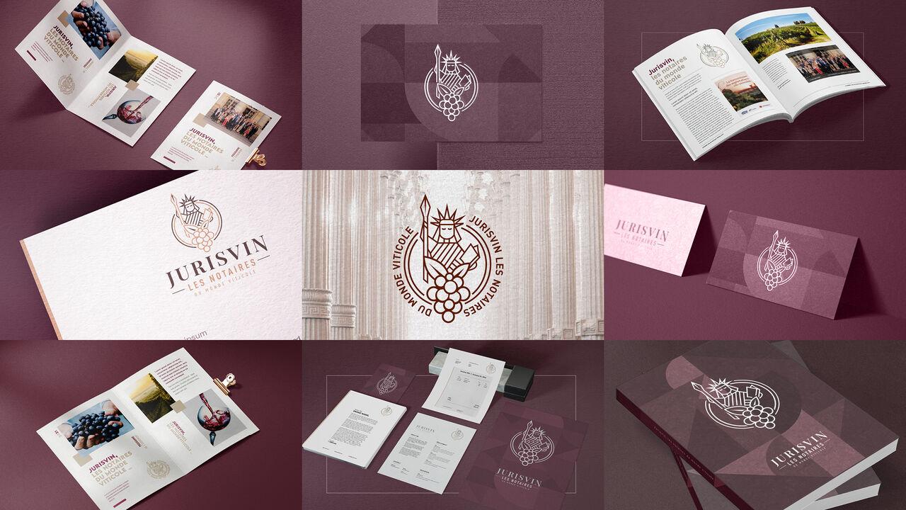 Jurisvin Notaires   Branding