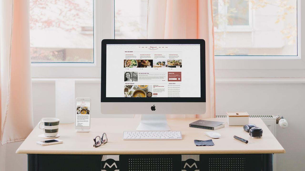 Template site de recettes de cuisine