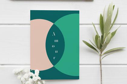 Design graphique : carte illustrée