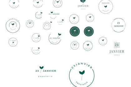 Création de logo : 23janvier