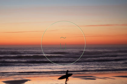 """Photographie """"Océan et Sport"""" : Surfer"""