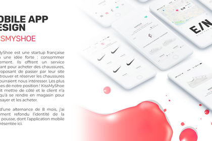 Mobile App Design - KissMyShoe