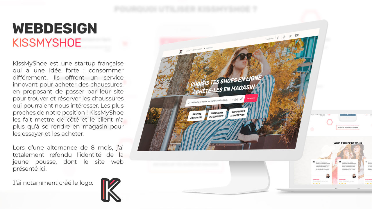 Webdesign - KissMyShoe