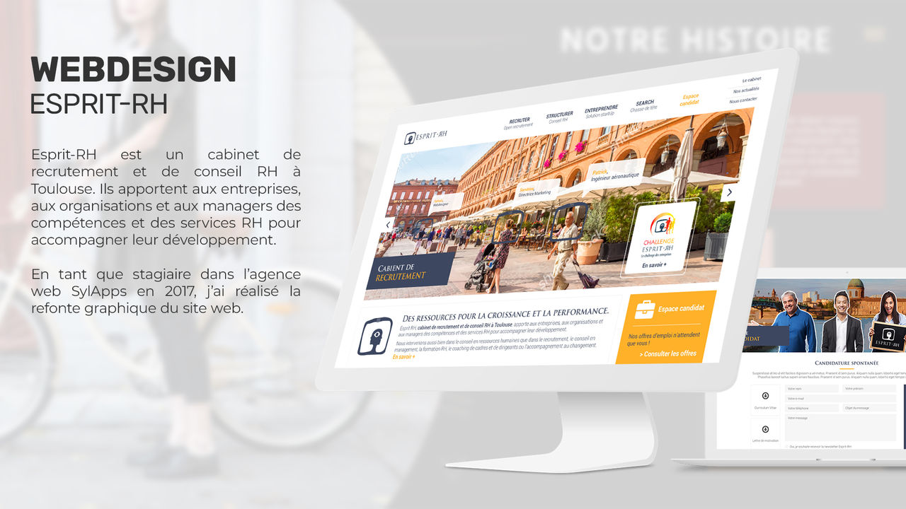 Webdesign - Esprit-RH