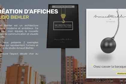 Affiches - Studio Bielher