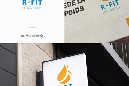 Création de logo - R-Fit