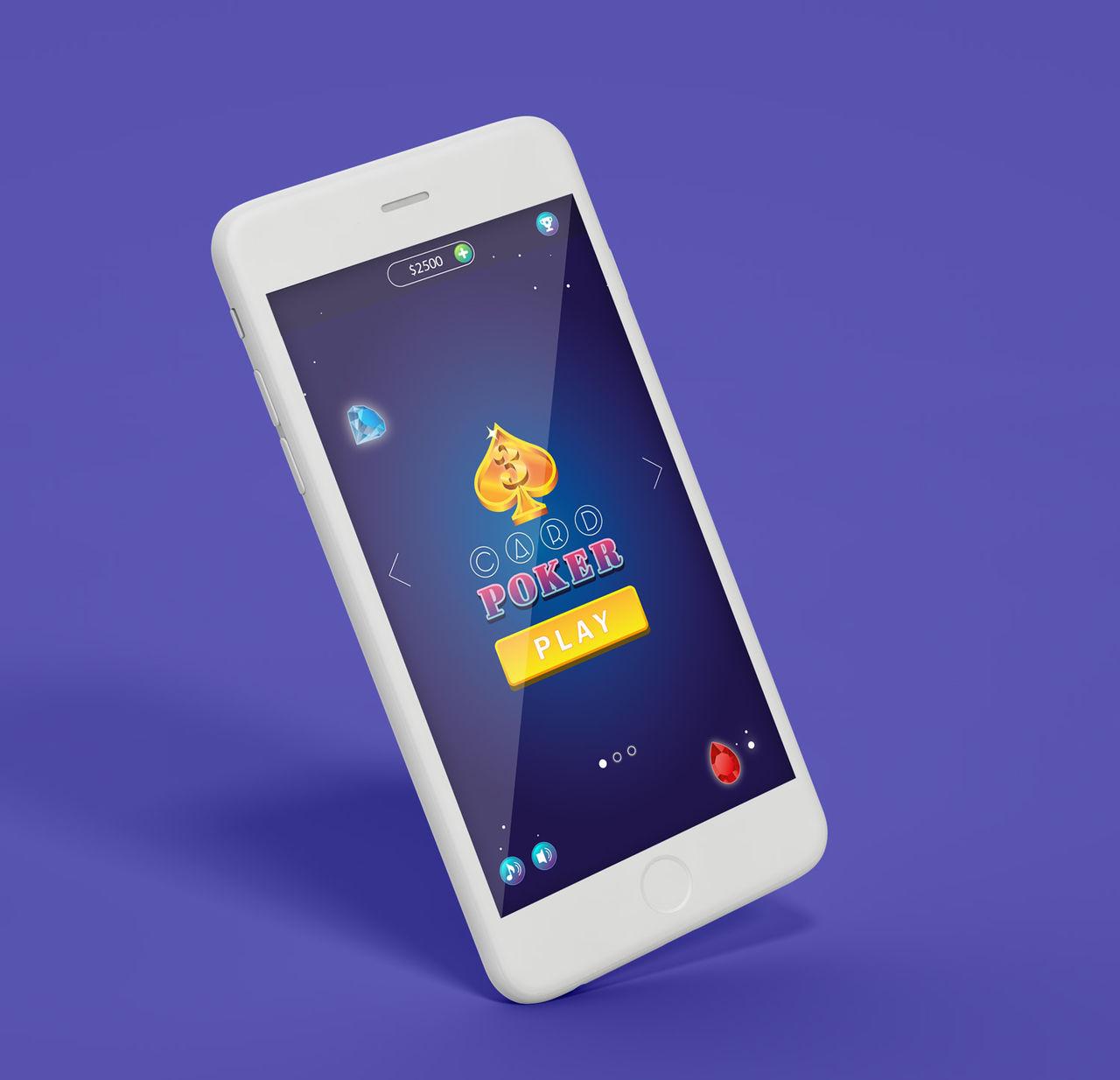 Design d'une appli de jeux - 3 Card Casino Poker +