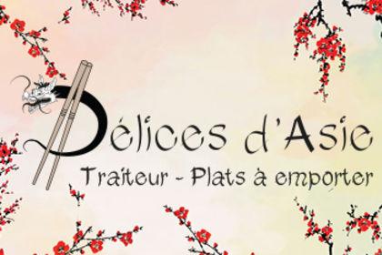 Logo traiteur Délices d'Asie