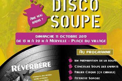 Affiche Disco soupe