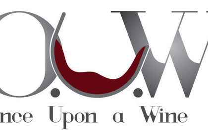 Logo Once upon a wine