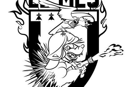 Logo LE MES Version monochrome
