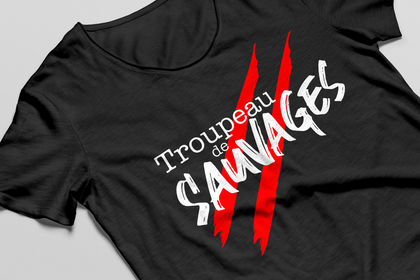 T-shirt SAUVAGES