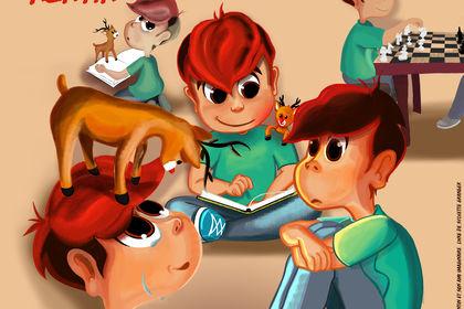 Kentin et son ami imaginaire - character design