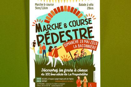 Affiche Marche&coursePÉDESTRE
