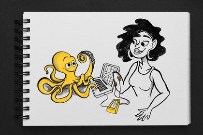 Illustration OCTOPUS