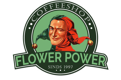 Logo du coffeshop Flower-Power.