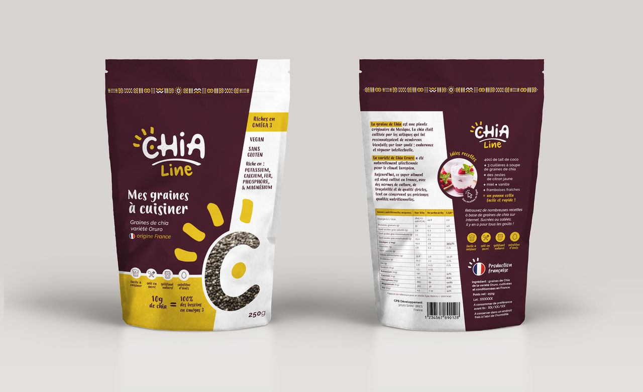 CHIA Line- Graines de chia