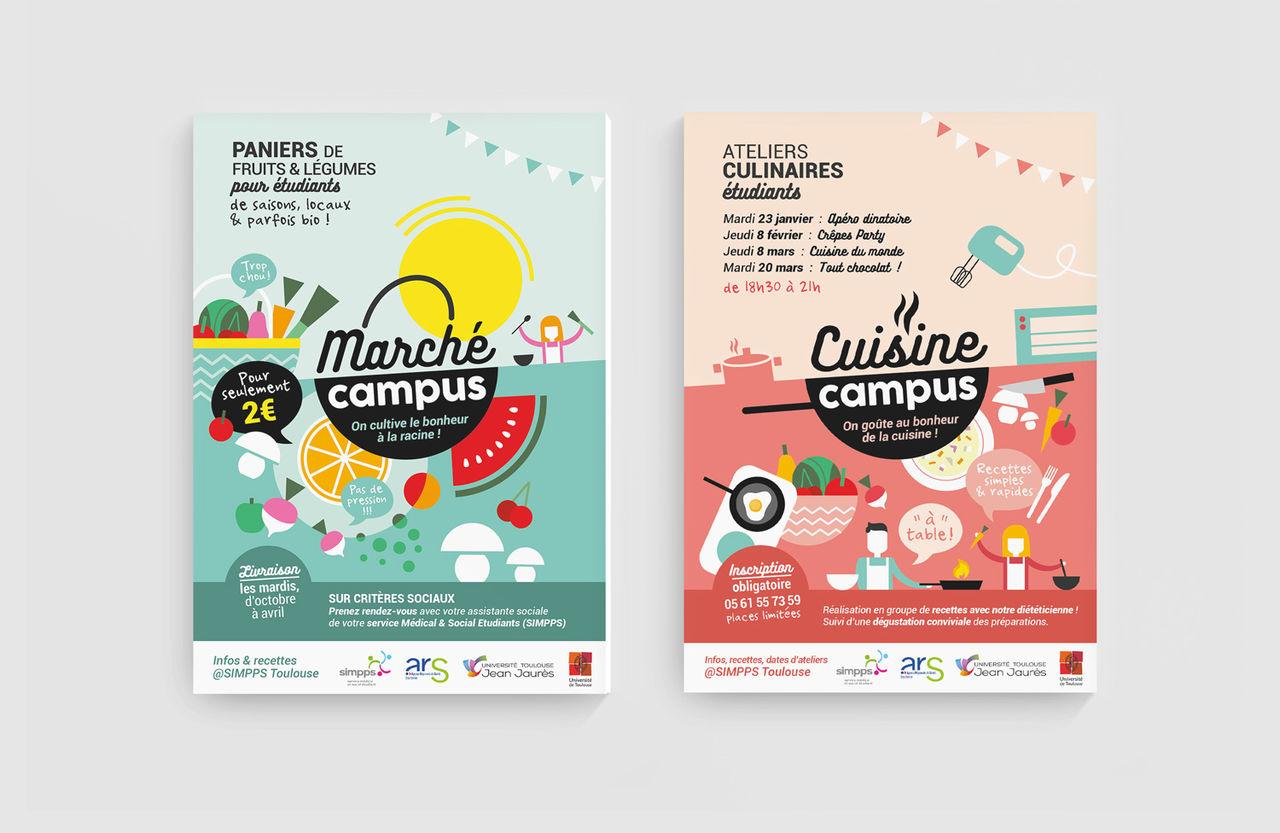 Marché et Cuisine Campus