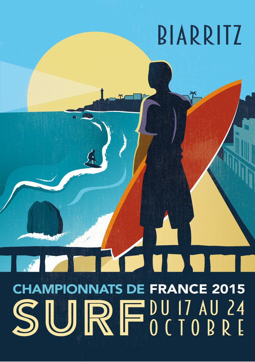 Championnats de France de SURF 2015